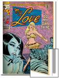 Marvel Comics Retro: My Love Comic Book Cover No2  Crying and Dancing (aged)