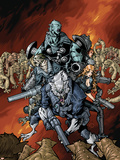 Nick Furys Howling Commandos No4 Cover: Warwolf