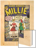 Marvel Comics Retro: Millie the Model Comic Book Cover No100  How Millie First Met Chili! (aged)