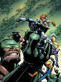 Marvel Team Up No16 Cover: Chronok  Arana  X-23  Speedball  Dagger  Gravity  Sleepwalker & Terror