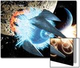 Secret Invasion: War Of Kings 1: Black Bolt and Medusa