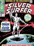 Marvel Comics Retro: Silver Surfer Comic Book Cover No1  Origin