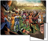 Fear Itself: Youth in Revolt No1: Gravity  Firestar  Komodo  Hardball  Thor Girl  and Ultragirl