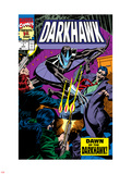 War Of Kings: Darkhawk No1 Cover: Darkhawk