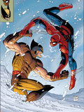 What If Spider-Man Vs Wolverine No1 Cover: Spider-Man and Wolverine