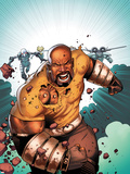 Thunderbolts No168 Cover: Luke Cage Running