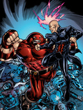 New Excalibur No3 Cover: Juggernaut and Professor X