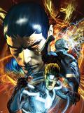War of Kings No3 Cover: Havok  Black Bolt and Vulcan