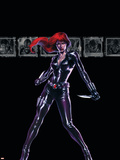 Secret War No4 Cover: Black Widow
