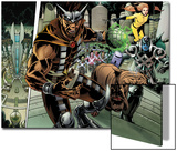 Realm of Kings Inhumans No4 Group: Gorgon  Lockjaw  Ronan the Accuser and Crystal
