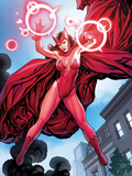 Avengers Vs X-Men No0: Scarlet Witch Flying with Energy