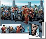 House of M MGC No1: Captain America  Carol Danvers  Wonder Man  Professor X  Iron Man and Others