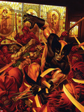 Wolverine/Hercules: Myths  Monsters & Mutants No1 Cover: Wolverine and Hercules Fighting