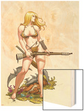 Shanna  The She-Devil No4 Cover: Shanna The She-Devil