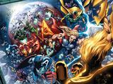 Nova Annual No1 Group: Thor  Vision  Iron Man  Captain America and Dr Doom