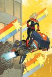 Captain Marvel 12 Cover: Captain Marvel
