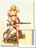 Shanna  The She-Devil No4 Cover: Shanna The She-Devil