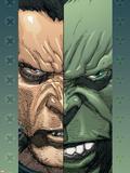 Ultimate Wolverine Vs Hulk No2 Cover: Logan and Hulk