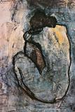 Nu bleu, 1902 Poster par Pablo Picasso