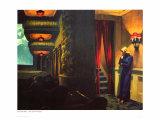 Cinéma à New York Giclée par Edward Hopper
