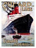 Cunard Line  Aquitania