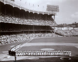 Yankee Stadium Left Field - 1955 World Series Opening Game ©Photofile