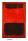 Marron et noir sur rouges, 1957 Reproduction d'art par Mark Rothko