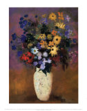 Vase of Flowers  1914