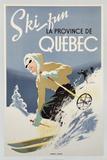 Ski Fun la Province de Quebec  1948