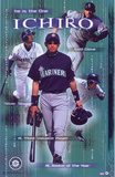 Ichiro Suzuki The ONE POSTER Seattle Mariners RARE NEW
