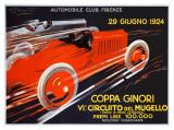 Coppa Ginori  Auto Race  Florence