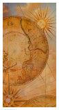 Carte du soleil Reproduction d'art