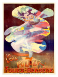 La Loie Fuller  Folies-Bergere