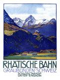 Rhatische Bahn  Schloss Tarasp