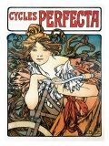 Cycles Perfecta Giclée par Alphonse Mucha