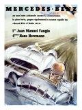 Mercedes Fangio Italian Grand Prix  c1954