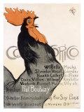 Cocorico Giclée par Théophile Alexandre Steinlen