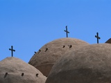 Crosses at Coptic Monastery