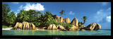 La Digue Island  Seychelles  Indian Ocean