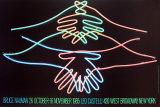 Bienvenue du fond du cœur Reproduction pour collectionneurs par Bruce Nauman