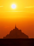 Mont-St-Michel at Sunset