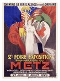 2eFoire Exposition/Metz Giclée par J. J. Stall