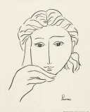 Woman&#39;s Face Sketch I