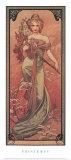 Reproduction Reproduction d'art par Alphonse Mucha