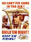 WWII  US Homefront  Keep 'Em Firing