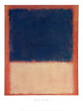 N° 203,1954 Reproduction d'art par Mark Rothko