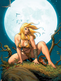 Shanna  The She-Devil No5 Cover: Shanna The She-Devil Crouching