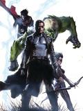 Secret Invasion No4 Cover: Nick Fury