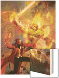 Strange No6 Cover: Dr Strange and Dormammu Fighting