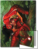 Secret Invasion No3 Cover: Iron Man and Spider Woman